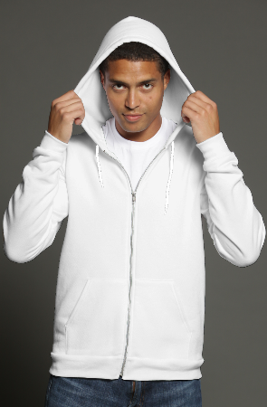 mens hoodies heather zip hoody