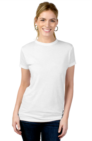 womens tshirts tultex ladies' blend tee
