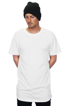 mens tshirts bella   canvas long tee