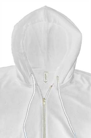 mens hoodies bella canvas zip hoody