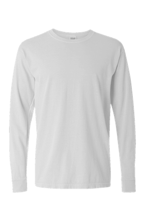 mens tshirts Pigment Dyed Heavyweight Long Sleeve T Shirt