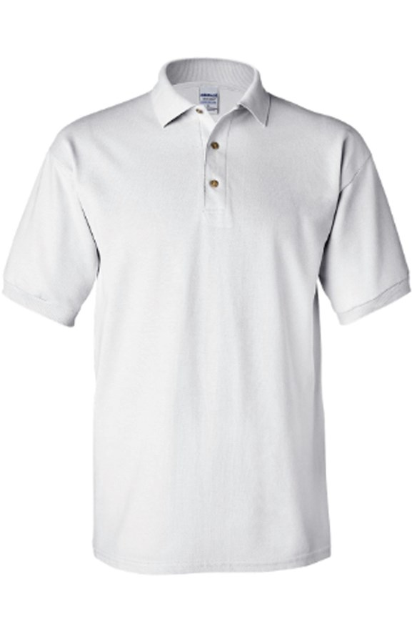 mens collars gildan cotton polo