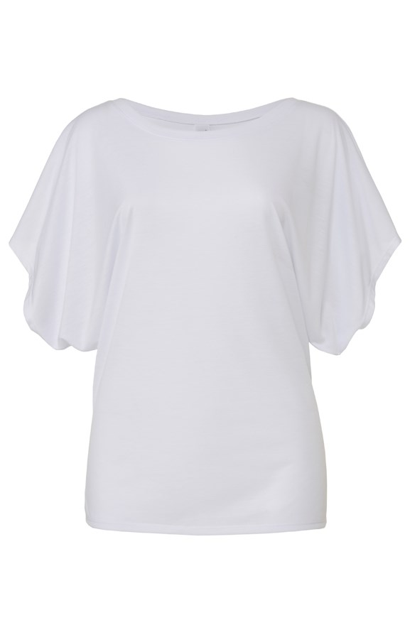 womens tshirts flowy draped tee
