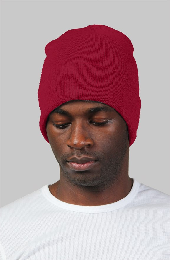 ece65bb6f4b h3h3 Red Beanie. color