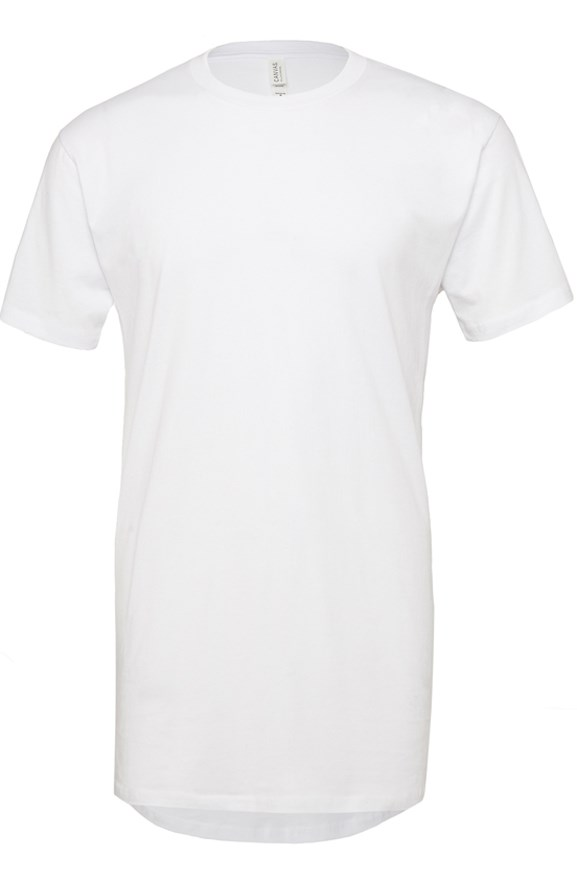 mens tshirts bella + canvas long tee