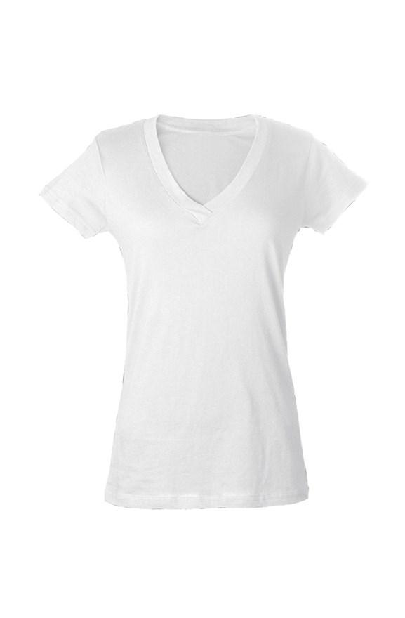 womens tshirts womens tultex v neck