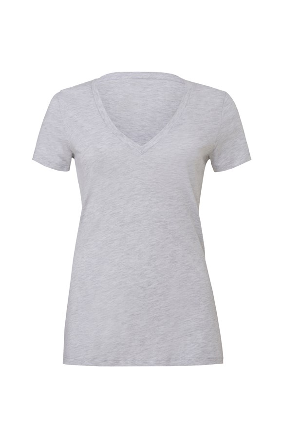 womens tshirts womens triblend deep v neck