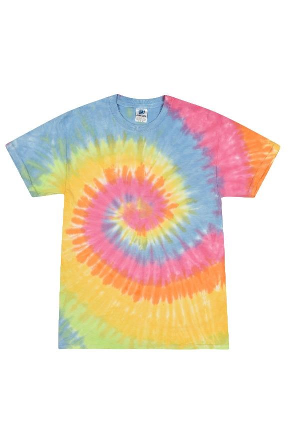 mens tshirts Tie Dye Eternity Adult Tee