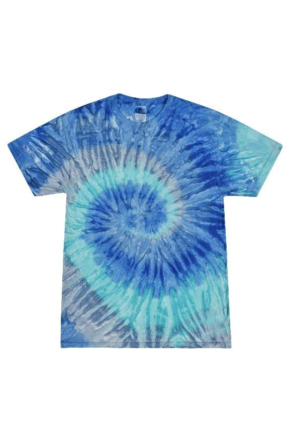 mens tshirts Tie Dye Blue Jerry Adult T Shirt