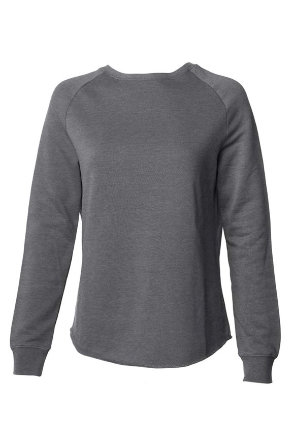 womens sweatshirts Womens Lightweight Wash Sweatshirt