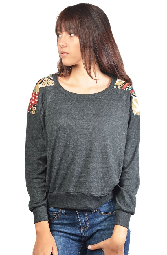 bella canvas ladies raglan sweater