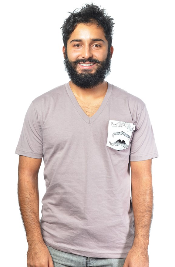 american apparel organic v neck