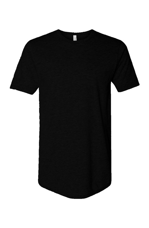 mens tshirts Cotton Long Body Short Sleeve Crew