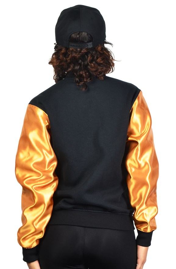 gold prize custom unisex club jacket