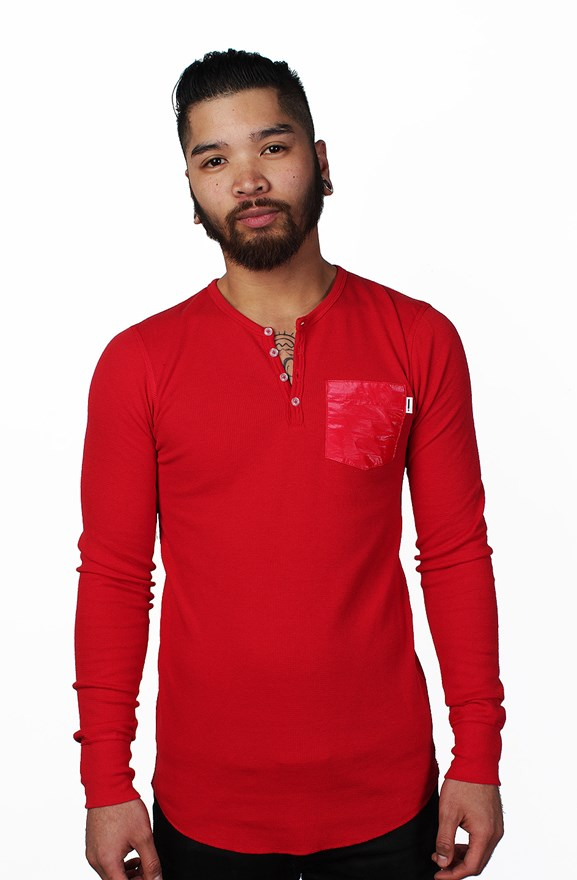 american apparel thermal henley